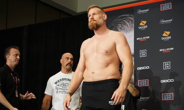 Josh Barnett pulled from Bellator 235 main event vs. Ronny Markes after arrival at the venue